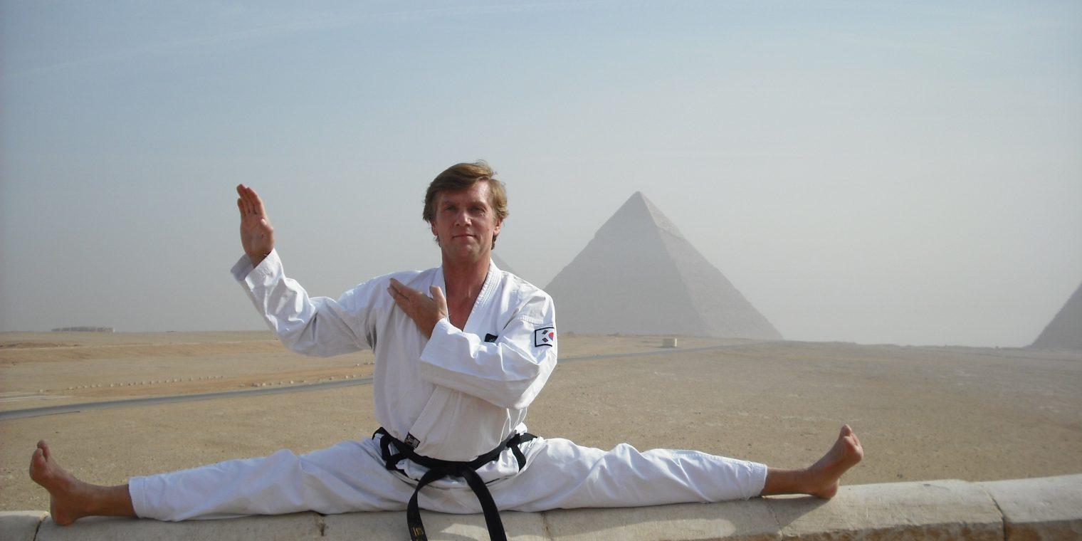Fehrer Tae Kwon Do Ägypten Körperbeherrschung Konzentration Sport